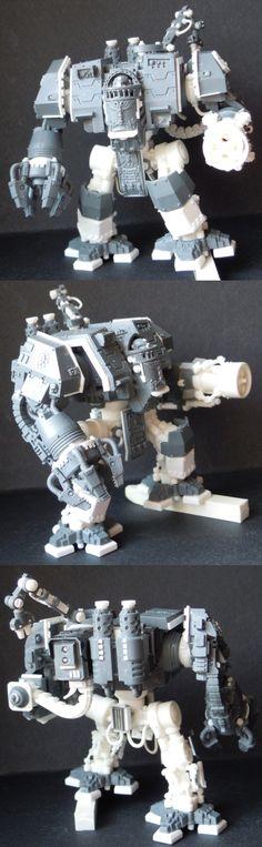 Iron Hands Space Marine Dreadnaught