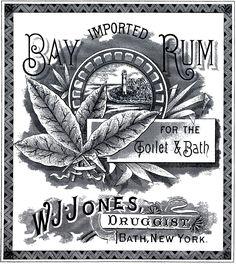 Vintage Cologne Label