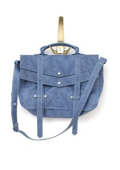 Leather messenger bag  cross body bag  Bang bag by StellaandLori, $273.00