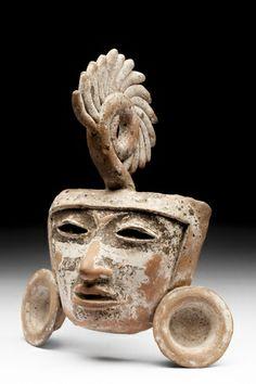Máscara antropomorfa - Museo Nacional de Antropología