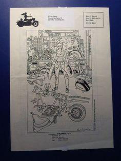 Kuijpers, Henk - Folders en reclamemateriaal - Franka - (1987 / 2003)