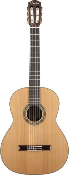 Fender CN-320AS All Solid Classical Guitar | Natural