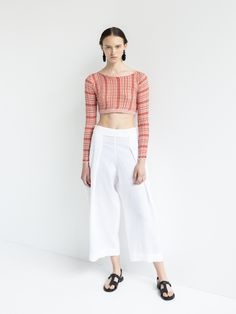 IOANNA KOURBELA TOP ARCHETYPES 20340-12923 Shirt Blouses, Shirts, Archetypes, Russia, Crop Tops, Swimwear, Pants, Women, Fashion