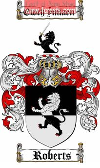 Roberts Coat of Arms / Roberts Family Crest