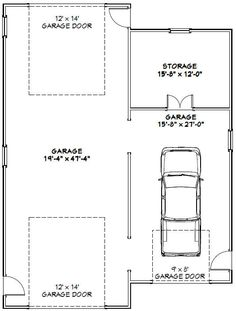 This is a PDF Plan available for Instant Download.  1 RV, big-rig, or bus garage + 1 car garage.  Sq. Ft: 1,600 (202 storage) Building size: 36-0 wide, 48-0 deep Roof pitch: 4/12 & 2/12 Ridge height: 20 Wall height: 16 & 10 Foundation: Slab Lap siding 2x4 walls standard. Basic dimensions for 2x6 walls also provided.  PLANS INCLUDE: Elevations Exterior / Interior Dimension Plan Floor / Ceiling Framing Plan Roof Framing Plan Cross Section Door & Window Schedule L...