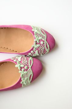 Wedding Flats Shoes Bridal Pink Velvet Flat Shoes Bride Engagement Special Night Size 8 (US) on Etsy, $65.00