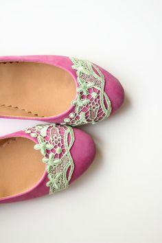 Wedding flats shoes