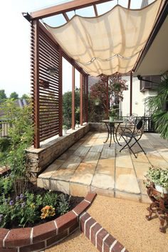 37 ideas pergola patio deck gardens for 2019 Small Pergola, Pergola With Roof, Cheap Pergola, Backyard Pergola, Pergola Shade, Pergola Plans, Pergola Ideas, Patio Ideas, Pergola Pictures