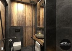 Łazienka w stylu industrilanym - zdjęcie od MONOstudio - Łazienka - Styl Industrialny - MONOstudio