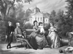 The Austrian Imperial family in Göddollo - Empress Elisabeth of Austria -