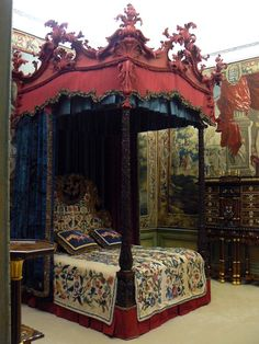 State Bed ~ Burghley House