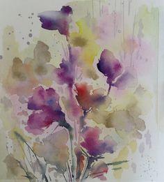 田代知子(Tomoko Tashiro) tashirotomoko.com January 2018 It's my new work. #tomokotashiro #art #watercolor #drawing #flower  #illustration #田代知子 #絵画 #イラストレーション Illustration, Japan, Drawing, Artist, Painting, Artists, Painting Art, Sketches, Paintings