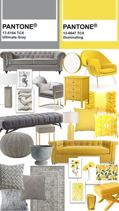 Sofa Design, Interior Design, Trending Paint Colors, Grey Home Decor, Home And Living, Living Room, Pantone Color, Home Staging, Decoration