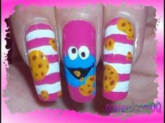 Stripey Cookie Monster Nails!http://www.youtube.com/watch?feature=endscreen=FPT8j4Pc_UQ=1