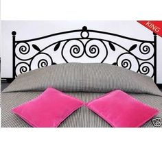Wall Decor Decal Sticker Removable Vinyl Headboard - I thought of you Cait!!!!