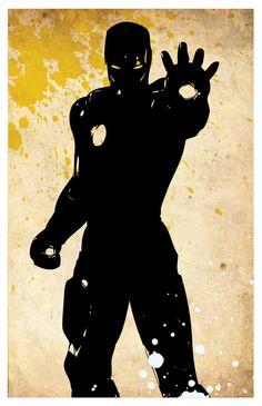 Avengers poster set. Ironman. Thor. Hulk. Captain America. 11x17 Minimalistic…