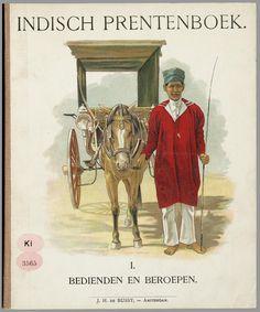 Indisch prentenboek : 1. Bedienden en beroepen / door J. van der Heijden