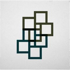 #539 City walks – A new minimal geometric composition each d... | Geometry Daily | Bloglovin'