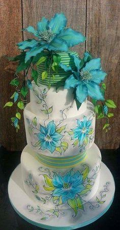 Clematis Cake