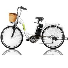 NAKTO Cargo Electric Bicycle Sporting Shimano 6 Speed Gear EBike Brushless Gear Motor with Removable Waterproof Large Capacity Lithium Battery and Battery Charger Electric Bike Review, Best Electric Bikes, Electric Bicycle, Bicycle Women, Road Bike Women, Cycling Art, Cycling Bikes, Cycling Equipment, Road Cycling