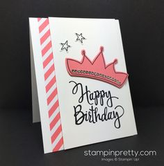 Stylized Birthday meets Wish Big Framelits Dies! Simple handcrafted birthday card idea & tips daily. Order Stampin' Up! On-Line 24/7.