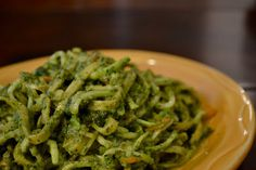 Veggies For Real: Pesto Pasta with Spiralized Zucchini and Carrots