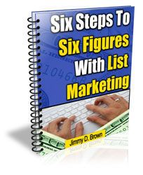 6 Steps To Six Figures With List #Marketing