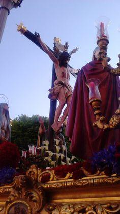 Fotografía de Pedro Aránguez. Jueves Santo -Ciudad Real- Realizada con móvil