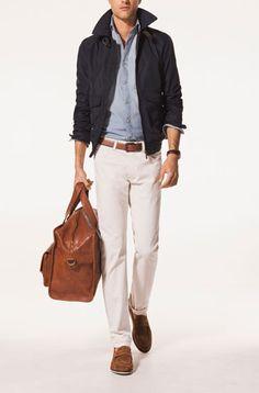 NYLON JACKET - Coats and Jackets - Garments - MEN - Malaysia
