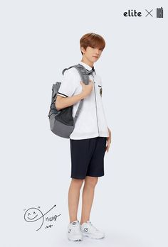 'Elite' school uniforms has released a brand new spring/summer pictorial featuring the sharply dressed boys of NCT 127 and NCT Dream!Both NCT gro… Nct 127, Park Ji-sung, Park Jisung Nct, Baby Prince, Dream School, Nct Life, Wattpad, Na Jaemin, Baby Chicks