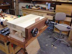 Moxon vise - by Clarkie @ LumberJocks.com ~ woodworking community