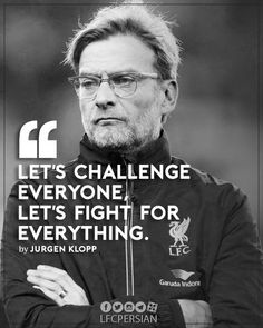 """""""You can't win s """"You are going to get destroyed!"""",""""You'll never win anything"""". how a Liverpool comeback is the motivation you. Liverpool Team, Football Quotes, Best Football Team, Football Soccer, Juergen Klopp, Liverpool Fc Wallpaper, Good Soccer Players, You'll Never Walk Alone, Uefa Champions League"""
