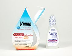 """Check out new work on my @Behance portfolio: """"Visine Eye-drop Package Redesign"""" http://be.net/gallery/34707109/Visine-Eye-drop-Package-Redesign"""