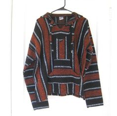 Vintage 1980s Mexican Baja Surfer Pullover by FlirtySanchezProject