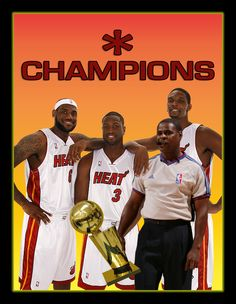 The BIG 4 Miami Heat  Champions 2012  Fraud    8ff3f9da4