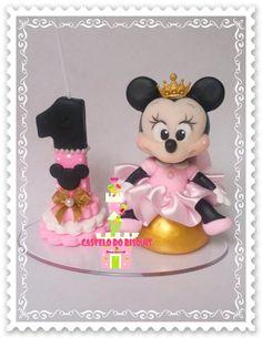Mini topo de bolo com 10cm com vela    Feito sob encomenda    FRETE POR CONTA DO COMPRADOR