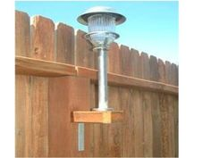 Outdoor solar lights aren't just for the ground!