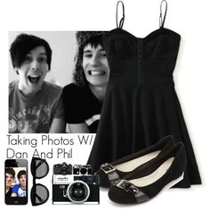 """Taking Photos With Dan & Phil"" by cutiepiemel on Polyvore"