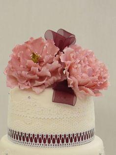 17 propostas de bolos de casamento românticos! Image: 5