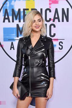 November 19: Selena on the red carpet at the AMAs.