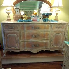 Beautiful Country French Server/Buffet/Media Console by TessHome on Etsy https://www.etsy.com/listing/225354258/beautiful-country-french
