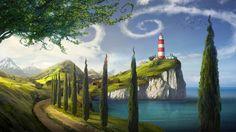 Lighthouse by bramLeech.deviantart.com on @deviantART