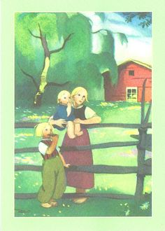 Martta Wendelin 31774 - not available Pictures To Draw, Cute Pictures, Fence Art, Book Illustration, Vintage Postcards, Illustrations Posters, Vintage Art, Martini, Art For Kids