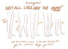 Drawing Tutorial: Legs