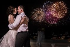 Have the opportunity to experience the Disney fireworks live from our rooftop at your wedding!