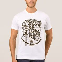 Shop AZTEC Warrior APPAREL T-Shirt created by BohemianBoundProduct. Personalize it with photos & text or purchase as is! Aztec T Shirts, Tee Shirts, Aztec Warrior, Fitness Models, Street, Casual, Fabric, Sleeves, Mens Tops