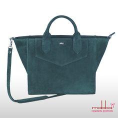 Handtasche Leder Businessbag MacBook Tasche innen von mabba auf DaWanda.com