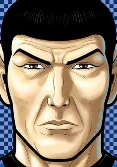 Spock by Thuddleston.deviantart.com on @DeviantArt