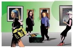 "Title : ""Exhibition""Medium : collage and digital Pierre Paul, Collage, Illustration Art, Illustrations, Paper Art, Art Gallery, Medium, Digital, Artist"