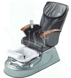 A leatherette pedicure chair with a foot bowl and offers elegance to any salon or spa. Spa Pedicure Chairs, Pedicure Spa, Shiatsu Massage Chair, Scoliosis, Jet, Amazon, Amazons, Riding Habit